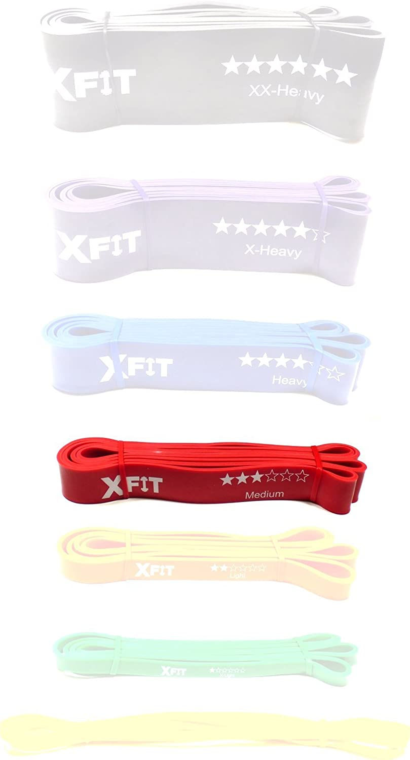 Strength Weight Training XFit Resistance Loop Band Crossfit Exercise