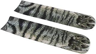 Delicacydex Stampa 3D Animal Foot Foot Calzini Adult Claw Digital Calzini Calzini Spot Stampa Digitale Calze Sportive