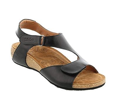 03d3aa1e578c7 Taos Footwear Women s Rita Black Sandal 36 ...