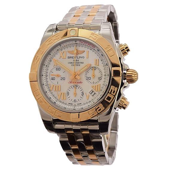 Hombre Breitling Acero Inoxidable Reloj cb014012-a748