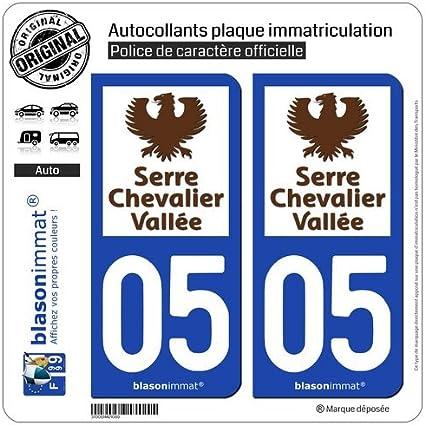 De 2 adhesivos placa de matrícula con 05240 invernadero Chevalier ...