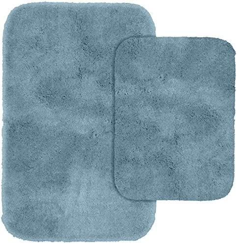 Garland Rug 2-Piece Finest Luxury Ultra Plush Washable Nylon Bathroom Rug Set