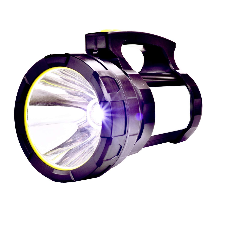 Odear Double side lights Spotlight High-power Super Bright 9000MA 6000 LUMENS Rechargeable LED Searchlight Lantern Flashlight