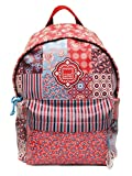 Large Backpack 42x35x15 cm, Assorted Hanging (Floral Quilt)