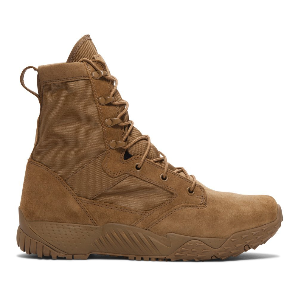 Under Armour Men's Jungle Rat Military and Tactical Boot, (220)/Coyote Brown, 10.5 by Under Armour