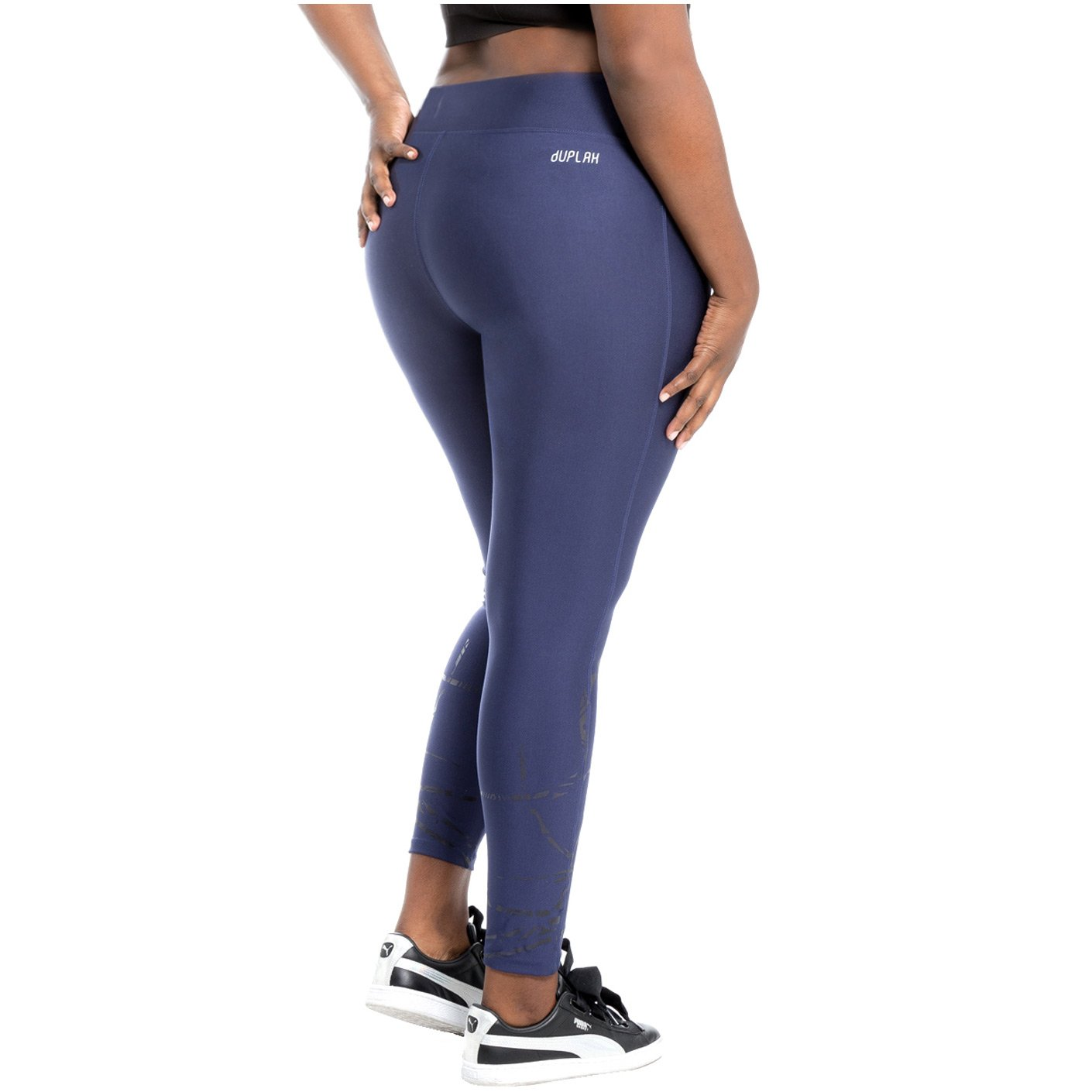 1cee8040e4b9d Duplah Womens Fashion Plus Size Leggings Workout Pants Comfortable  Sportswear Yoga Gym Crossfit Activewear Ropa Deportiva Colombiana Mujer  Blue XL: ...