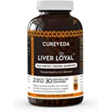 Cureveda™ Herbal Liver Loyal- Milk Thistle For Healthy Liver Function and for promoting healthy digestion and natural protection against fatty liver (60 Tabs)