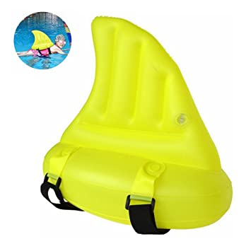 Zmoon Flotadores de Aletas de Tiburón- Aleta de Tiburón de Nadar Ayuda para la Piscinaa