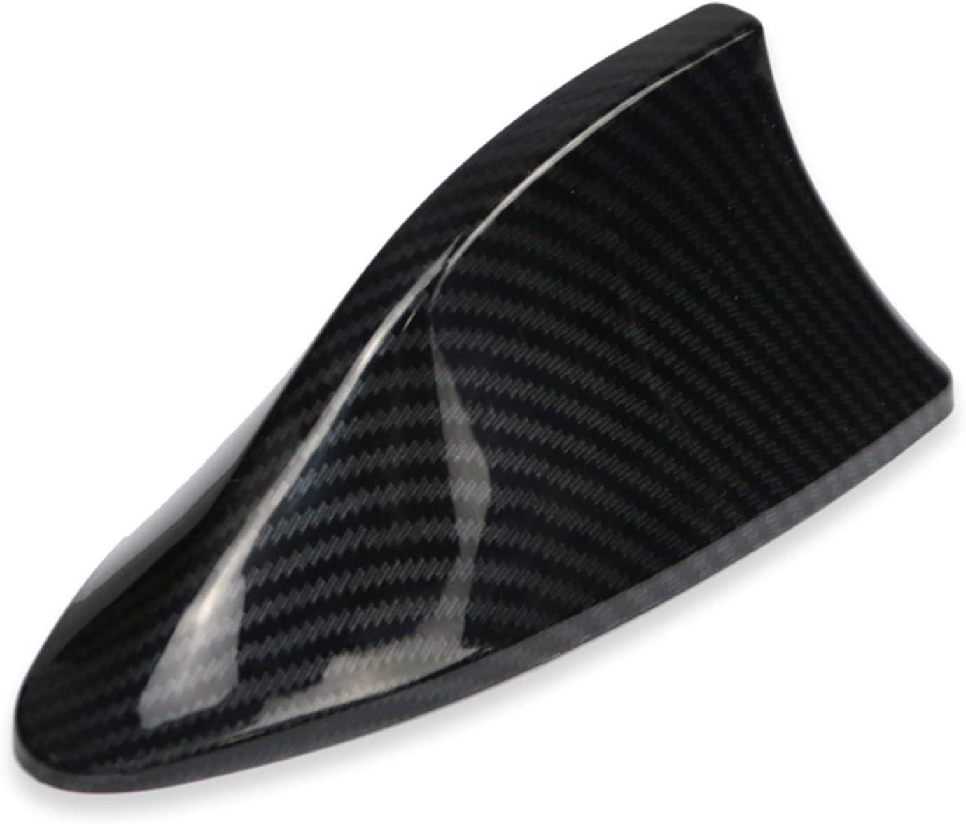 Color : Dark Grey YSDHE Sauts Radio Auto Signal Imitation en Fibre de Carbone Voiture aileron de Requin antenne for VW Polo Ford Kuga Kia Car Styling Roof D/écor