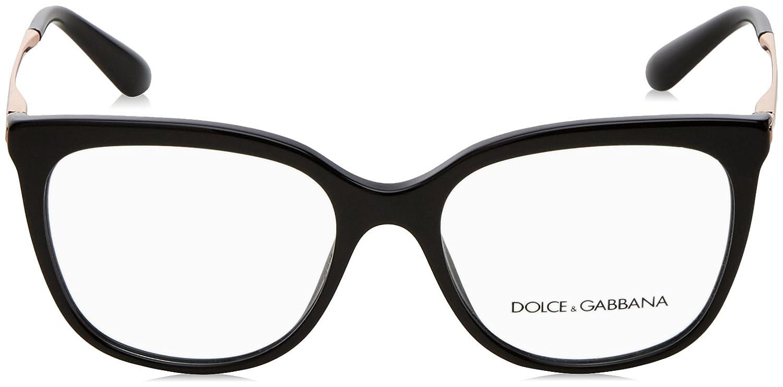 9b392755b3e Amazon.com  Dolce Gabbana DG3259 Eyeglass Frames 501-51 - Black DG3259-501- 51  Clothing