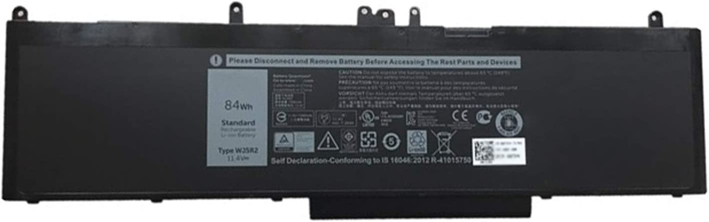 Dentsing WJ5R2 (11.4V 84Wh/7350mah)Laptop Battery Compatible with Dell Latitude E5570 Series Notebook 4F5YV