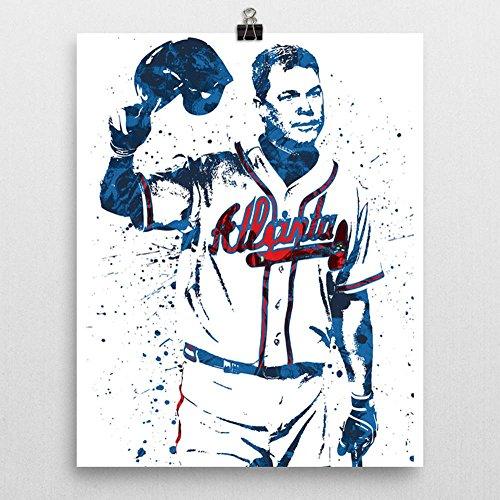 Atlanta Braves Pillow - Chipper Jones Atlanta Braves Poster