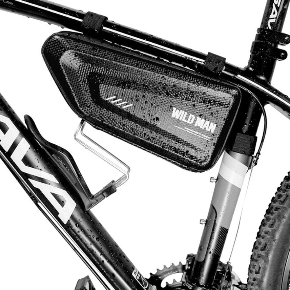 Wild Man - Maletín rígido para Bicicleta, diseño de triángulo ...