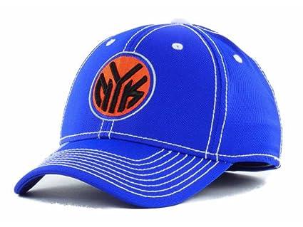 97cd5633c15e7 New York Knicks New NBA Primary Royal Blue Flex Fit Hat Cap-Small/Medium S/M