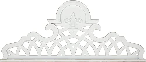 Deco 79 Traditional Wooden Crown Wall Decor