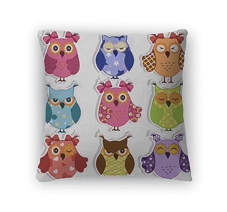 Amazongearcartoon owls 6587059 gearcartoon owls 6587059 gn 18quot cover insert voltagebd Images