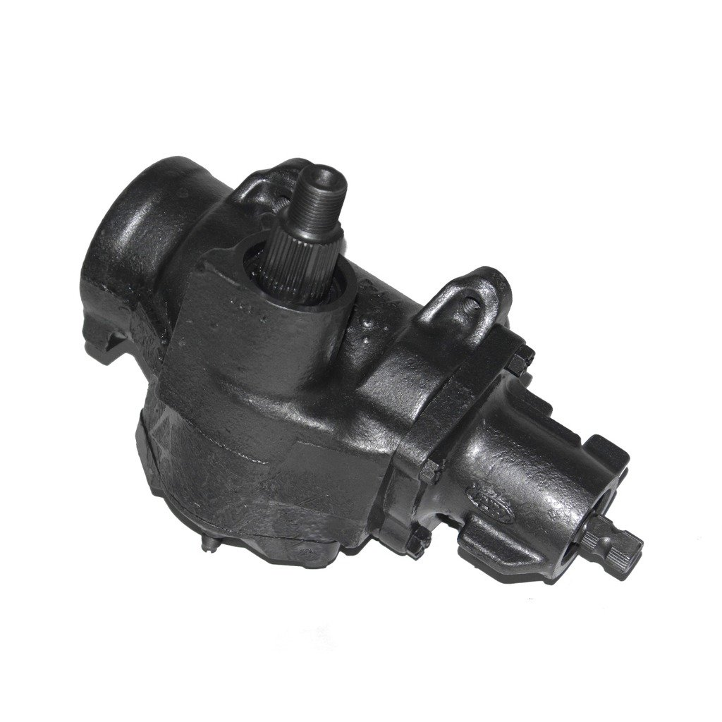 Detroit Axle - Complete Power Steering Gear Box Assembly - Lifetime Warranty - for Ford E-Series, Explorer, F-Series, Ranger & Mazda B-Series, Navajo
