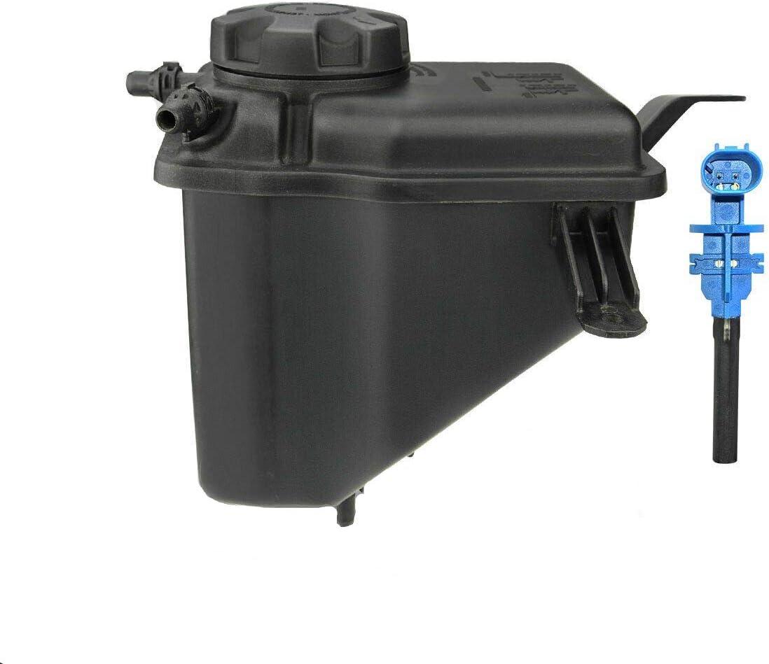 Coolant Recovery Reservoir Expansion Tank with Cap and Sensor for BMW E60 E61 E63 E64 525i 528i 530i 550i 650i