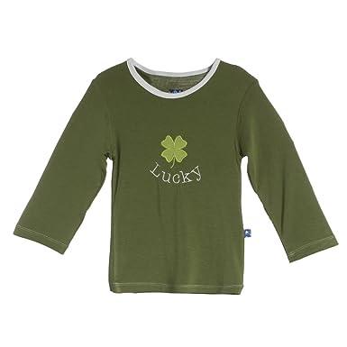 7a5721c026a89 Amazon.com  KicKee Pants Boys Long Sleeve Applique Tee  Clothing
