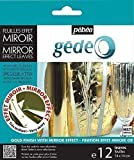 Gedeo Mirror Effect Gilding Foil Leaves 12 Pack (Gold)