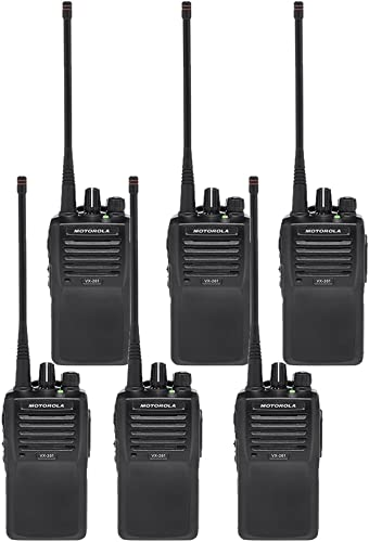 Vertex VX-261 UHF 6 Pack of PRE-PROGRAMMED Radio