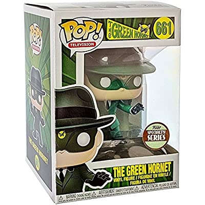 Funko Pop! Specialty Series: The Green Hornet - 1960 Green Hornet Vinyl Figure (Bundled with Pop Box Protector Case): Toys & Games