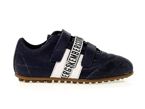 Bikkembergs Mujer BKE107818W Azul Cuero Zapatos: Amazon.es: Zapatos y complementos