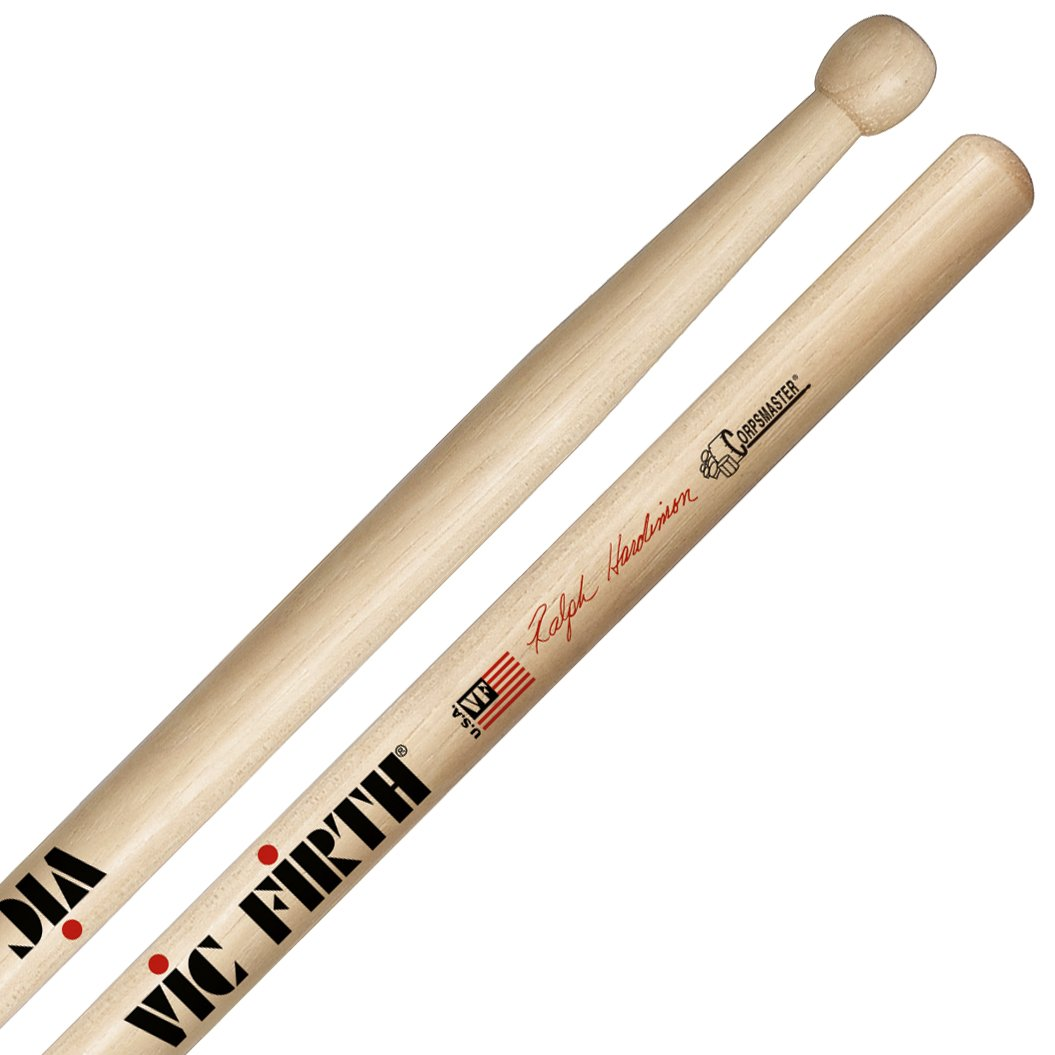 Vic Firth Corpsmaster Multi-Tenor Stick - Ralph Hardimon - SRHTS KMC Music Inc