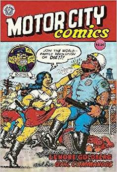 Motor City Comics Featuring Lenore Goldberg And Her Girl