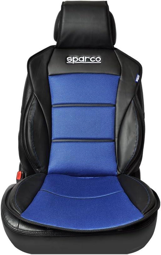 SPARCO SPC0902AZ Schienale Cuscino Copri Sedile 3D Nero//Blu