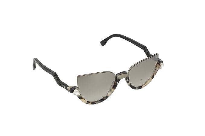 Amazon.com: Fendi Demi de la mujer anteojos de sol de vidrio ...