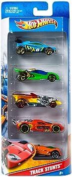 Hot Wheels - Pack de 5 vehículos (modelos variados) (Mattel 1806 ...