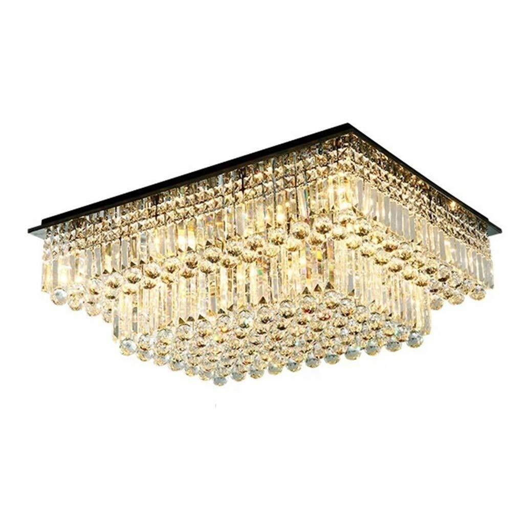 Office Ceiling Lights Crystal Chandelier Mini Elegant Chandelier Luminaire E14 Light Source18 Suitable for Bedroom, Foyer, Bathroom, Living Room Energy Level A+++ by Xk-Ceiling Lights