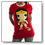 Bioworld Juniors Wonder Woman Funko T-shirt