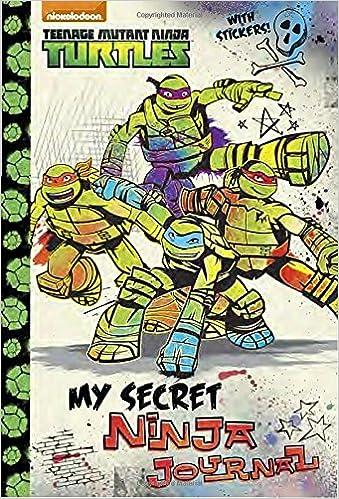 My Secret Ninja Journal Teenage Mutant Ninja Turtles: Amazon ...