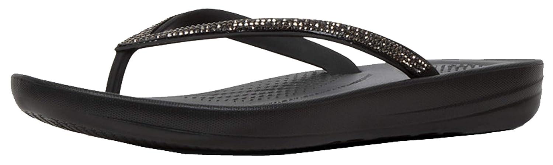 1afa0609cdc Shoes Women Flip flops FitFlop IQUSHION ERGONOMIC FLIP-FLOPS Glitter    Silver