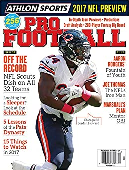 Athlon sports 2017 pro football chicago bears preview magazine athlon sports 2017 pro football chicago bears preview magazine athlon sports amazon books voltagebd Images