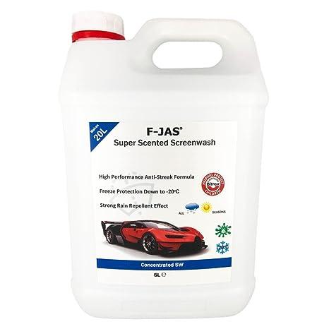 Líquido limpiaparabrisas súper aromático F-JAS (5L, concentrado ...
