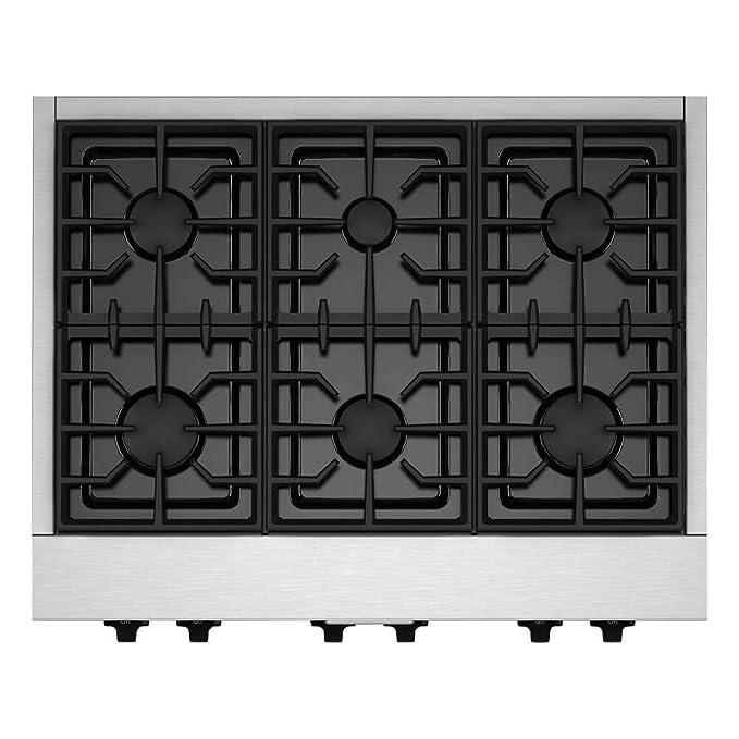 Amazon.com: KitchenAid kgcu467vss commercial-style Gas ...