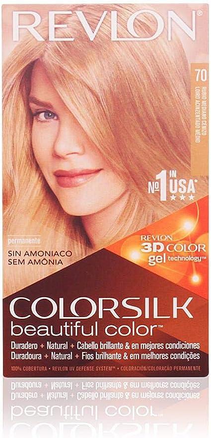 Revlon 939-89707 Colorsilk Tinte - 600 ml: Amazon.es: Belleza