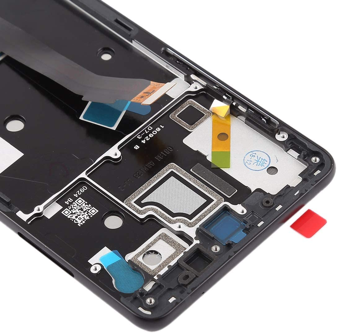 Color : Black YANGJIAN LCD Screen and Digitizer Full Assembly with Frame for Xiaomi MI Mix 2S Black