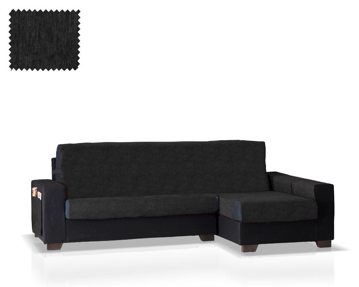 JM Chaise sofa cover Larissa right arm, normal size (245 Cm.), beige colour Belmarti