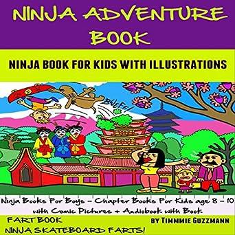 Amazon.com: Ninja Adventure Book: Ninja Book for Kids: FART ...