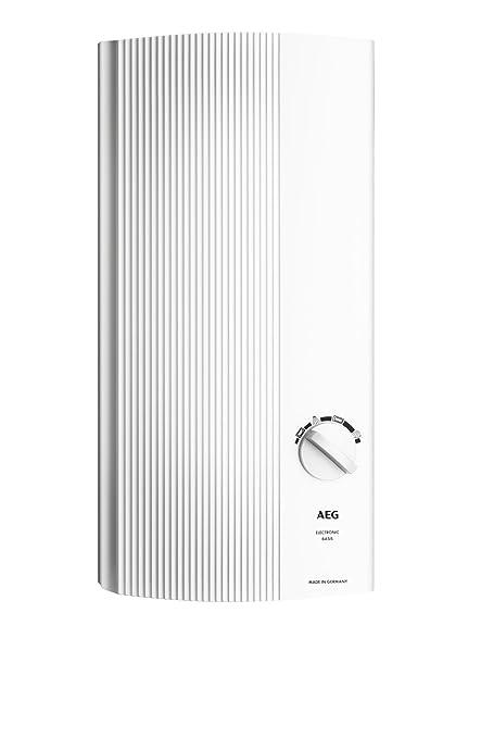 AEG 222390 DDLE Basis 18/21/24 - Calentador eléctrico continuo regulable (18