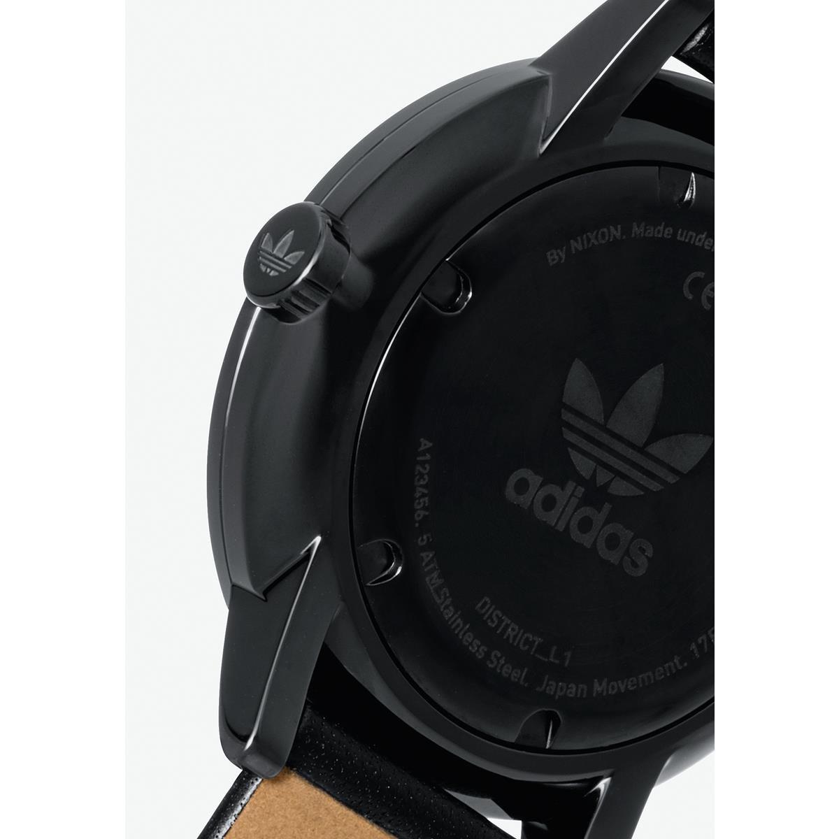 Adidas by Nixon Reloj Analogico para Mujer de Cuarzo con Correa en Cuero Z08-2345-00: Amazon.es: Relojes