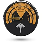 ECZO Magnetic Stove Thermometer Oven Temperature Meter for Wood Burning Stove/Gas Stoves/Stove