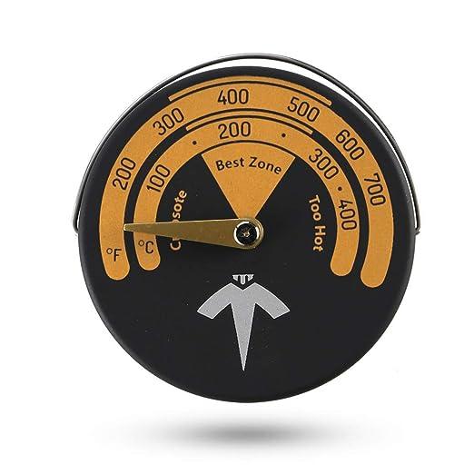 ECZO - Termómetro magnético para estufa y horno, medidor de ...