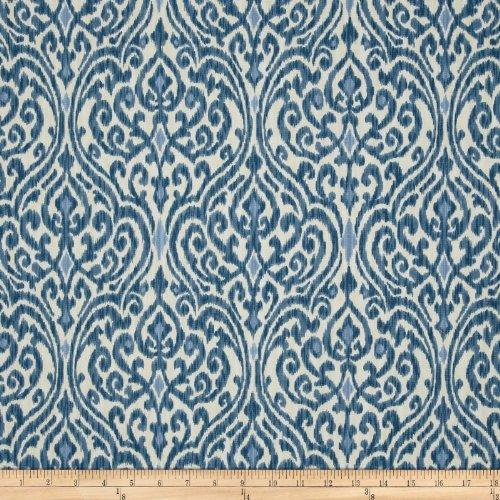 Waverly Home Decor Fabrics (Waverly Srilanka Indigo Fabric By The Yard)