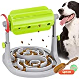 Dog Puzzle Toys Cat Food Dispenser Slow Feeder IQ Training Toy Adjustable Funny Treats Dispensing Exercise Games for Puppys Kitten