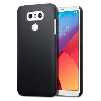 LG G6 Carcasa Híbrida - Negro oscuro